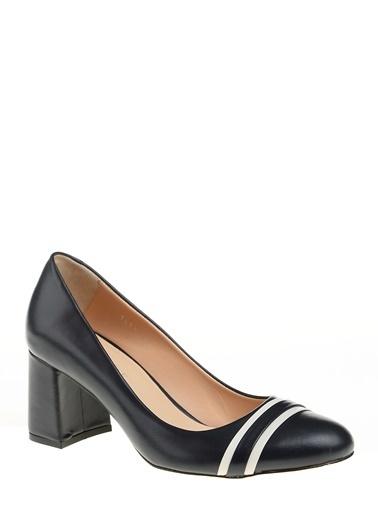 D by Divarese %100 Deri Klasik Ayakkabı Lacivert